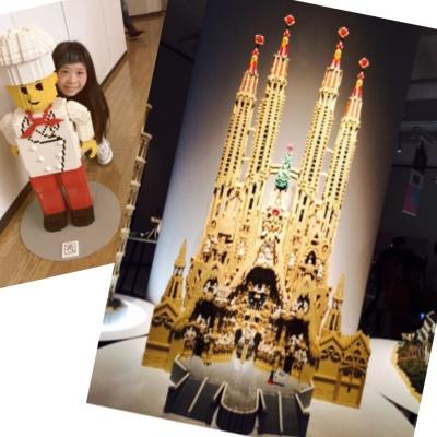 LEGOブロックすごいー!!!